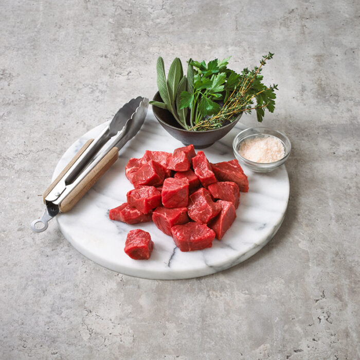 beef cubed